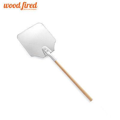 """36"""" pizza peel 12"""" x 14"""" Aluminium head for use with a wood fired pizza oven"""