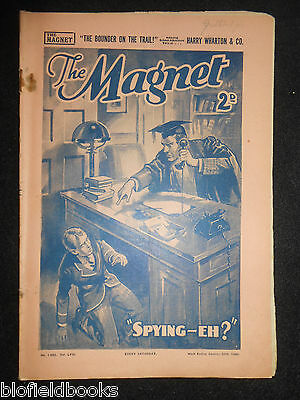 The Magnet; Billy Bunter's Own Paper - WWII Era Boy's Comic - January 20th 1940