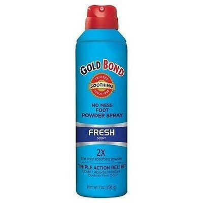Gold Bond No Mess, Fresh-Scent Foot Powder Spray (7 oz.)