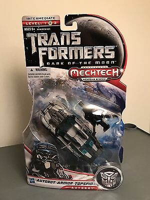 Transformers Dark of the moon DOTM deluxe armor topspin lot