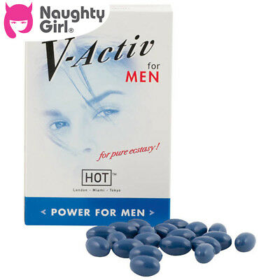 V-Activ Power Caps For Men x 20 by Hot Production Adult Toys From GET SEXY