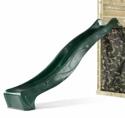 Plum® 2.18m Yulvo Slide - Green - Climbing Frame Play Centre Attachment