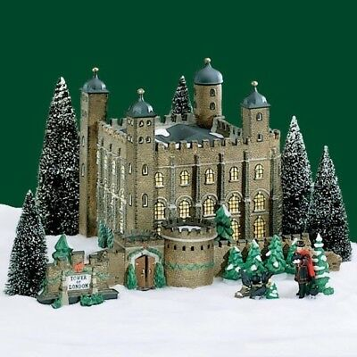Department 56 Dickens' Village Tower of London Set of 5 Lighted Retired 58500