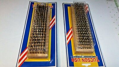 """8"""" inch Large Stainless Steel Wire Brush 2 for $ 7.99 Free Shppn"""