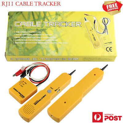 New Pro Network Cable Wire Tracker Telephone RJ11 Tester Tracer Finder Detector