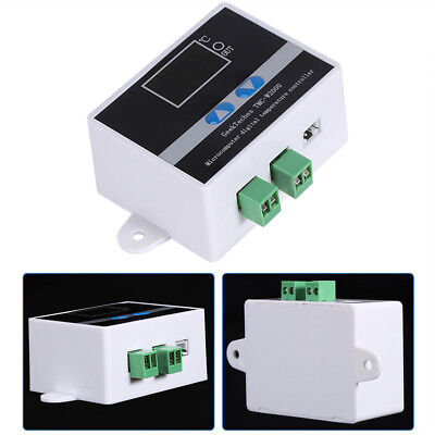 Newest 12V/110V-220V Digital LED Thermostat Temperature Controller Switch Sensor