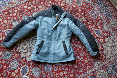 Ladies/girls MOTORCYCLE TEXTILE JACKET ALL WEATHER SIZE 6, fits size 10 female