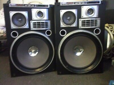 Vintage Yamaha NS 8181 Studio Monitors/Speakers, 200 Watts