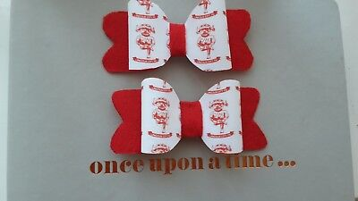 Lincoln City FC Hair Bow