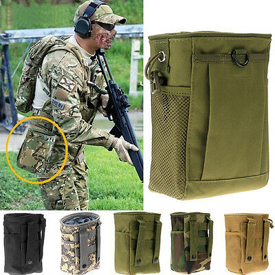 Nylon Drop Down Leg Mag Compact Magazine Pouch Holster Bag Army Green Gifts