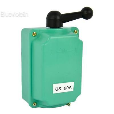 60A Drum Switch Forward/Off/Reverse Motor Control Rain-proof Reversing BLLT