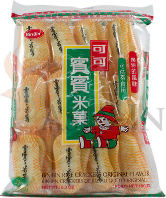 Reis Cracker, Original, Bin Bin 150g