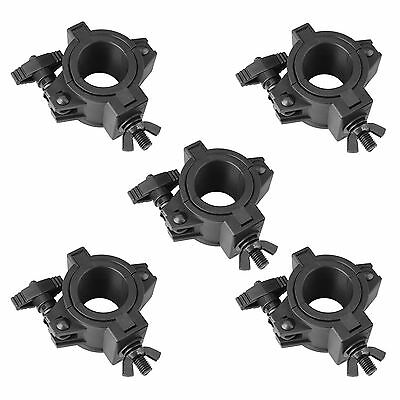 AU 5 Pack 33lb Stage Lighting Clamps for DJ Lighting Par Light Plastic O Clamp