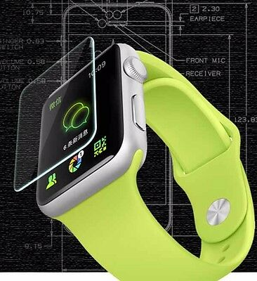 LIA005-Screen Protector Guard Tempered iwatch Cover 2.5D Apple Glass For 38MM