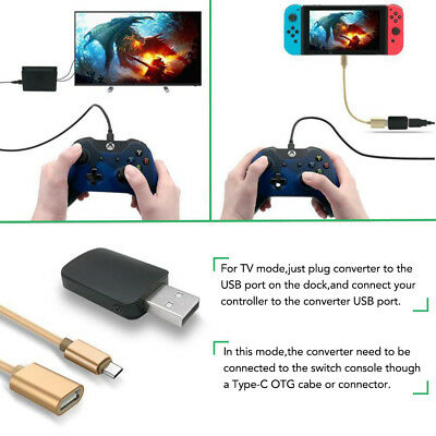 Controller Adpater Cable Converter For Xbox One/PS3/PS4 To Nintendo Switch AC836