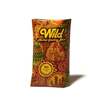 Wild - Herbal smoking blend mixture - organic and Nicotine free  - 30 gr