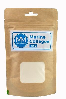 Marine Collagen powder 100g - a 100% pure natural product from cold water fish.