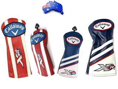 1Pcs Callaway Golf Xr Driver/fairway Wood Headcover Headcovers Head Cover Covers
