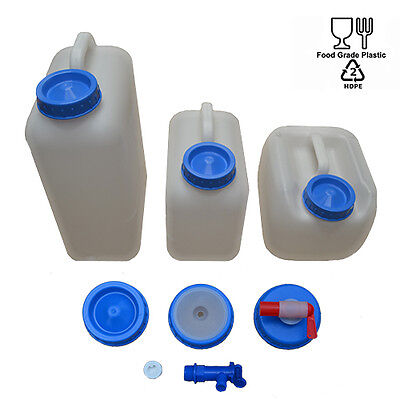 HEAVY DUTY Fresh Water Container, Tank, Carrier 9/10/20 Ltr Caravan & Motorhome