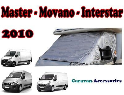 External Cab Thermal Screen Insulated Turn Down Cover Master Movano 2010 Onwards