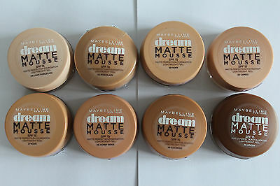 Maybelline Dream Matte Mousse Matte Perfection Foundation - Please Choose Shade:
