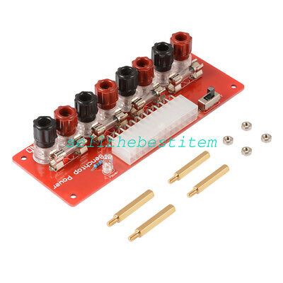 NEW 24Pins ATX Benchtop Power Board Computer Power Supply Breakout Adapter