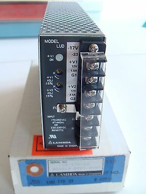 Lambda LUD-17V-33 Dc POWER SUPPLY