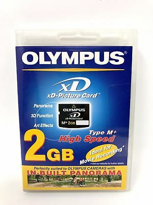 Olympus xD-Picture Card M+ 2 GB High Speed Panorama,3D Function,Art Effects NEW!
