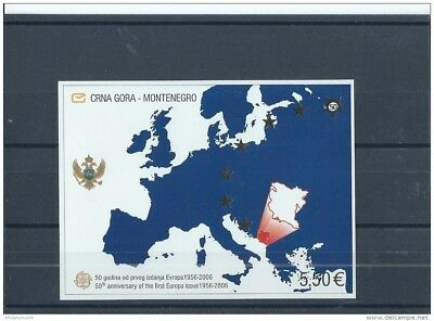 Lot : 082017/589 - Montenegro 2006 - Yt Bf N° 3 Neuf Sans Charniere ** (Mnh) Gom