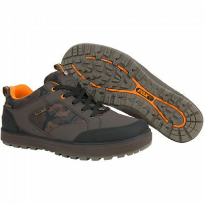 New Fox Chunk Camo Shoes Trainers Boots All Weather Fishing Waterproof All Sizes