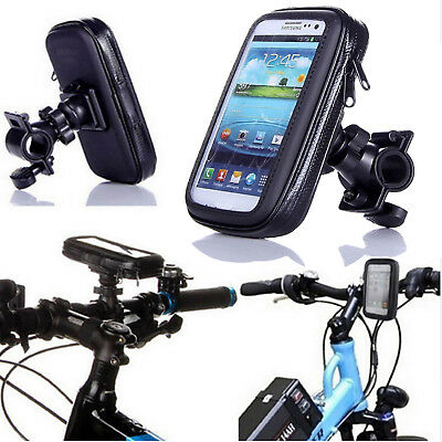 Universal Waterproof 360 Degree Bike Bicycle Phone Case Mount Holder For Mobiles