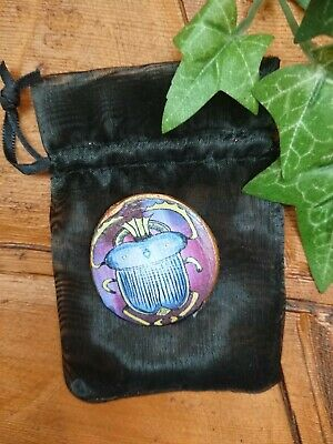 Scarab Beetle Talisman Amulet charm Spells Spell supplies  pagan Witchcraft