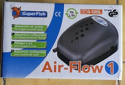 Pompe à air SuperFish Air-Flow 1 neuve