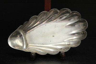 Vintage Sterling Silver Bailey, Banks & Biddle Shell Form Vide Poche ~ 2.6 Ounce