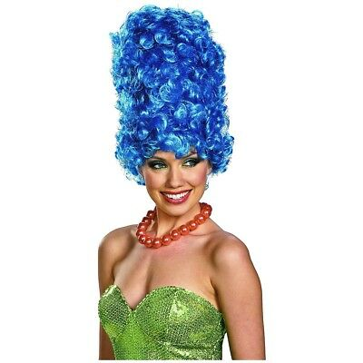 Marge Simpson Wig Adult Womens The Simpsons Costume Halloween Fancy Dress