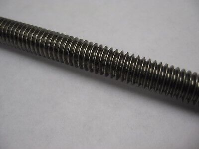 "5 Pack 3' 5/16-18 (0.3125)"" 18-8 Stainless Steel Threaded Rod / All Thread (15')"