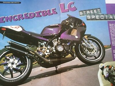 Yamaha Rd350Lc Special - Original 7 Page Motorcycle Article