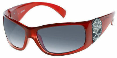 HDS529-SG10 HARLEY DAVIDSON WILLIE G SKULL RED SUNGLASSES NEW