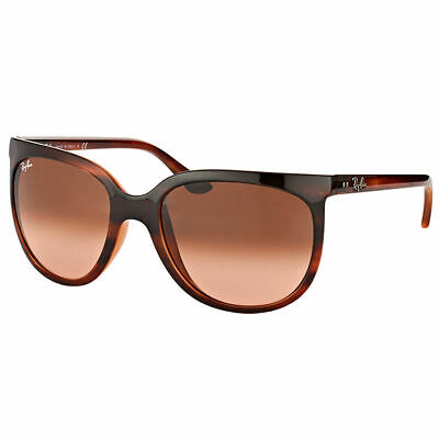 9cad94e4f168f3 Ray-Ban Cats 1000 RB 4126 820 A5 Stripped Havana Sunglasses Pink Gradient  Lens