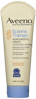 Aveeno Eczema Therapy Moisturizing Cream, 7.3 Ounce 3 count
