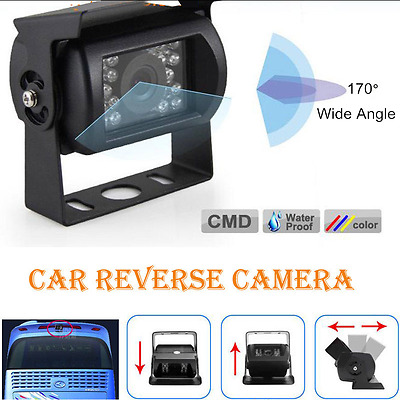 AU 9-36V Waterproof Backup Reverse CCD Camera for BUS Car Truck IR Night Vision