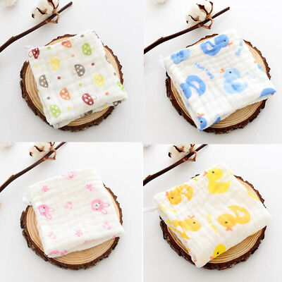 Baby Bibs Towel Cotton soft saliva towel Toddler Lunch Bibs Burp Clothes 1pc