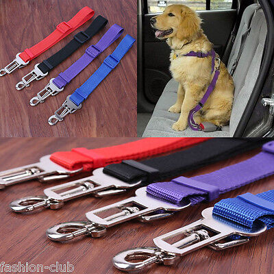 Cat Dog Pet Safety Seatbelt Car Vehicle Seat Belt Adjustable Harness Lead