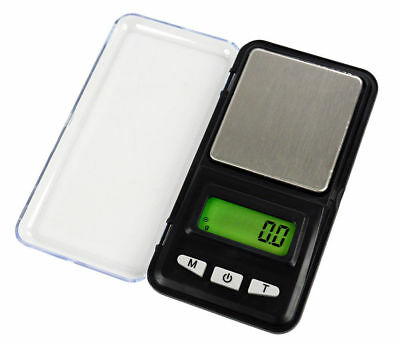 Digital LCD Scale Balance Weighing Jewelry Pocket Electronic Gram