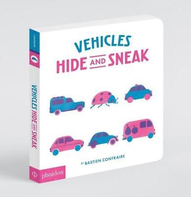 NEW Vehicles Hide and Sneak By Phaidon Board Book Free Shipping