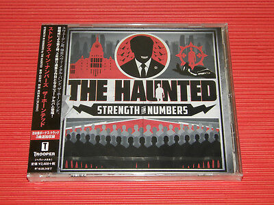 2017 THE HAUNTED Strength In Numbers with Bonus Tracks JAPAN CD