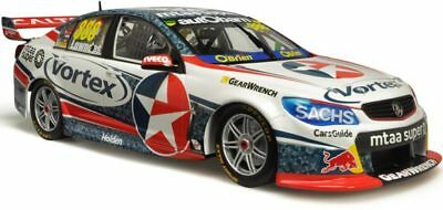 Classic Carlectables 1/43 2017 Craig Lowndes Team Vortex VF Commodore Diecast