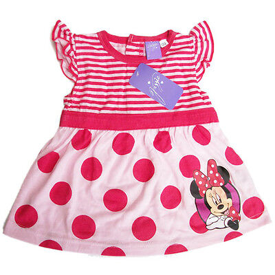 new kids Girls Minnie mouse summer dress kids size 00 0 1 2 nice Christmas gift