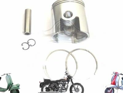 Lambretta 185 Cc Performance Piston Kit 64.60 Mm & Thin 1.50 Mm Rings @aud