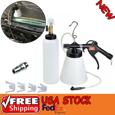 1L Air Brake Fluid Bleeder Kit Pneumatic Clutch Bleeding Extractor Fill Bottle